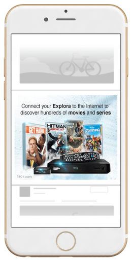 B2C Event Marketing Sponsorship Amplification Ad